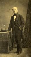 France Homme Age En Costume Mode Second Empire Ancienne Photo CDV 1860