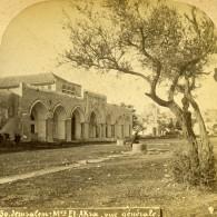 Israel Palestine Jerusalem Mosquée Al-Aqsa Ancienne Photo Stereo 1875 - Stereoscoop