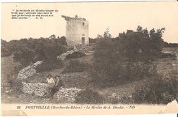 Fontvieille - Le Moulin De A. Daudet - Fontvieille