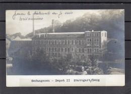 Guerre De 1914 - 1918 - Gefangenen-depot 2 Stuttgart/berg (beau Cachet) - Material