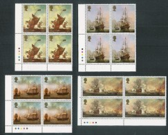 JERSEY 1974 JERSEY ARTISTS Colour Trafffic Light Blocks Of 4 SET Of 4. Unmounted Mint SG 115/18 - Jersey