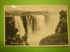 Zimbabwe, Rhodesia, Main Falls, Victoria Falls + Timbres (M1) - Zimbabwe