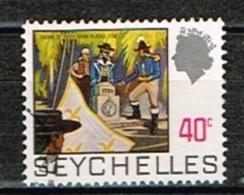 SEYCHELLES /Oblitérés/Used/1969/72 - Série Courante/Histoire De L'Ile - Seychelles (...-1976)