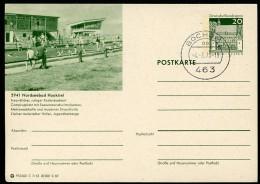 BUND P99 C7/53 Bild-Postkarte NORDSEEBAD HOOKSIEL Stpl. 1970 - Ferien & Tourismus