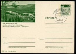 BUND P99 C7/54 Bild-Postkarte WOLFSHAGEN HARZ Stpl. 1970 - Ferien & Tourismus