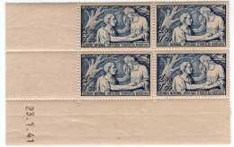 572  -  N° 498 **  2fr50+7fr50 Bleu  Au Profit Du Secours National   Cote 60 €   TTB - 1940-1949