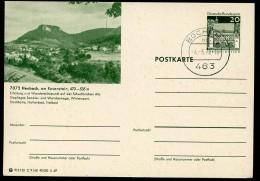 BUND P99 C9/68 Bild-Postkarte HEUBACH ROSENSTEIN Stpl. 1970 - Ferien & Tourismus