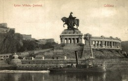 KAISER WILHELM DENKMAL COBLENZ - Koblenz