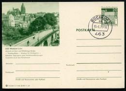 BUND P99 C11/86 Bild-Postkarte DOM WETZLAR LAHN Stpl. 1970 - Kerken En Kathedralen