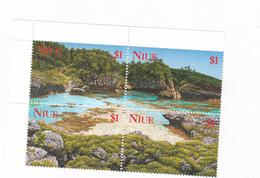 Niue SG 818-821 1997 Island Scenes MNH - Niue