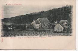 CPA - VAUX DE CERNAY LA VILLE - ETANG DU GRAND MOULIN ET MONUMENT PELOUZE - 1071 - P. M. - PRECURSEUR - France