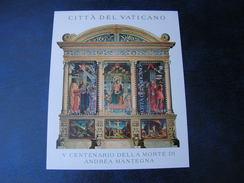 Vatican 2006  Mantegna Block 27 ** MNH Postpreis € 2,80  Michel € 6,00 - Blocks & Kleinbögen
