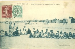 (14) RIVA BELLA : Les Cabines - Le Repos Sur Le Sable (animée) - Riva Bella