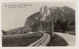 Voie Ferrée Grenoble/Villard De Lans. La Ligne Aux 3 Pucelles St Nizier - France