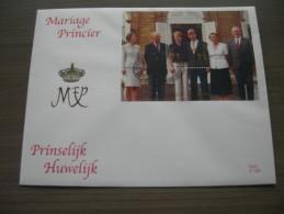 BELG.1999 BL82 FDC Mariage Princier - Philippe Et Mathilde D'Udekem D'A - FDC