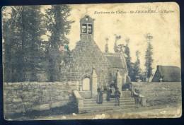 Cpa Du 22 Saint Nicodème L' église Environs De Callac    JIP39 - Callac