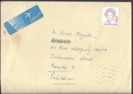 Nederland Airmail 1991 Queen Beatrix 1,60G Postal History Cover - Period 1980-... (Beatrix)