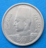 Egypte Egypt 2 Piastres Ah 1356 / 1937 Km 365 - Egipto