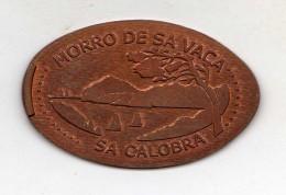 Token,Spain,Mallorca, Palma Aquarium,Morro De Sa Vaca,Sa Calobra,metal. - España