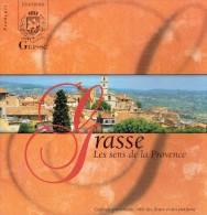 Ancienne Brochure Touristique Sur Grasse Parfums Fragonard Molinard (1997) - Dépliants Touristiques