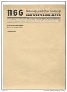 Letterhead Westfalen Nord, Special News Of German Party - Blotters