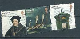 GROSSBRITANNIEN GRANDE BRETAGNE GB 2016 500 Aniversary Of Royal Mail Set Of 3 V.  SG 3788-90 MI 3845-47 - 1952-.... (Elizabeth II)