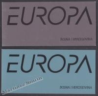 Bosnia Herzegovina - Mostar - Croatia 2002 Yvert C67-68, Europa Cept. Circus - Booklet - MNH - Bosnien-Herzegowina