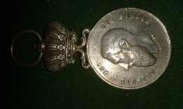 1894, Wurden, Sauveteurs De Blankenberghe, Fête Au Pier, A O. Decorte, 8 Gram (med309) - Elongated Coins