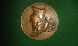 1837, Braemt, Gent, Soc. Reg. Agricult. Et Botan. Gand, 24 Gram (med311) - Pièces écrasées (Elongated Coins)