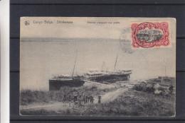 Congo Belge - Carte Postale De 1913 - Oblitération Boma - Expédié Vers La Belgique - Antwerpen -