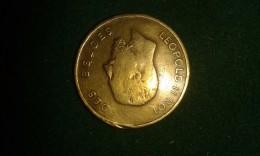 1873, Grand Festival International, Honneur Aux Societés Et Visiteurs De La Ville De Gand, 3 Gram (med314) - Pièces écrasées (Elongated Coins)
