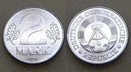 DDR 2 Mark 1974 - [ 6] 1949-1990 : GDR - German Dem. Rep.