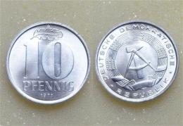 DDR 10 Pfennig 1971 - 10 Pfennig