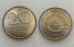 DDR 20 Pfennig 1971 - [ 6] 1949-1990 : GDR - German Dem. Rep.