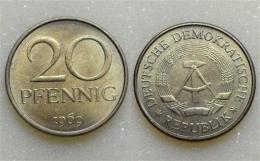 DDR 20 Pfennig 1969 - [ 6] 1949-1990 : GDR - German Dem. Rep.