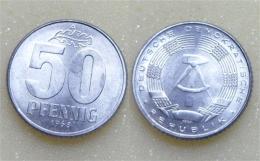 DDR 50 Pfennig 1968 - [ 6] 1949-1990 : GDR - German Dem. Rep.