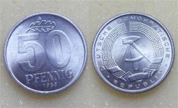 DDR 50 Pfennig 1958 - [ 6] 1949-1990 : GDR - German Dem. Rep.