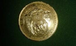 1864, Koninklijke Akademie Van Beeldende Kunsten Te Antwerpen, 200-jarig Jubileum, 16 Gram (med320) - Elongated Coins