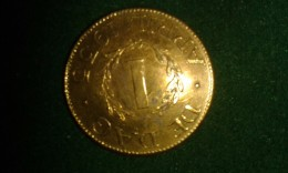 1 April 1935, De Dag, Onpartijdigheid, Eensgezindheid, 4 Gram (med321) - Monete Allungate (penny Souvenirs)