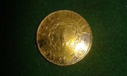 1 April 1935, De Dag, Onpartijdigheid, Eensgezindheid, 4 Gram (med323) - Souvenirmunten (elongated Coins)