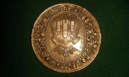 1866, Braemt, Soc. D'Horticulture D'Anvers, 3de Prijs Van Kerckhove-Key, 44 Gram (med324) - Souvenirmunten (elongated Coins)