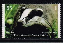 Bund 2009, Michel# 2767 O Dachs - Tier Des Jahres - [7] République Fédérale
