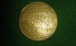 1892, Baetes, Congres Du Cinquantenaire D'Academie D'Archeologie, Anvers, 8 Gram (med325) - Elongated Coins
