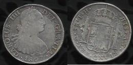 ESPAGNE . CAROLUS IV . 8 REALES . 1807 . - Provincial Currencies