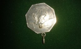 De Koninklijke Hoofdrederijkkamer De Violieren, Antwerpen, 10 Gram (med327) - Pièces écrasées (Elongated Coins)