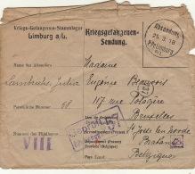 Prisonnier De Guerre Lambrichs Julia Famille Beauvois Lehardy Lmburg A/l 1918