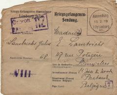Prisonnier De Guerre Lambrichs Julia Famille Beauvois Lehardy Lmburg A/l 1918 - Oorlog 14-18