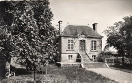 CPSM  -   HAUTEVILLE  SUR  MER  (50)    La Mairie - France