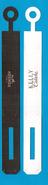 Cartes Parfumées Carte  BRACELET PAPIER KELLY CALÈCHE   De HERMES Recto Verso - Modernes (à Partir De 1961)