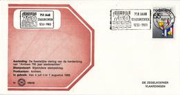 Nederland - Zegelkoerier Nederlandse Poststempels - Arnhem 750 Jaar Stadsrechten 1233 - 1383 -  Nr. 1983/28 - Marcofilie - EMA (Print Machine)